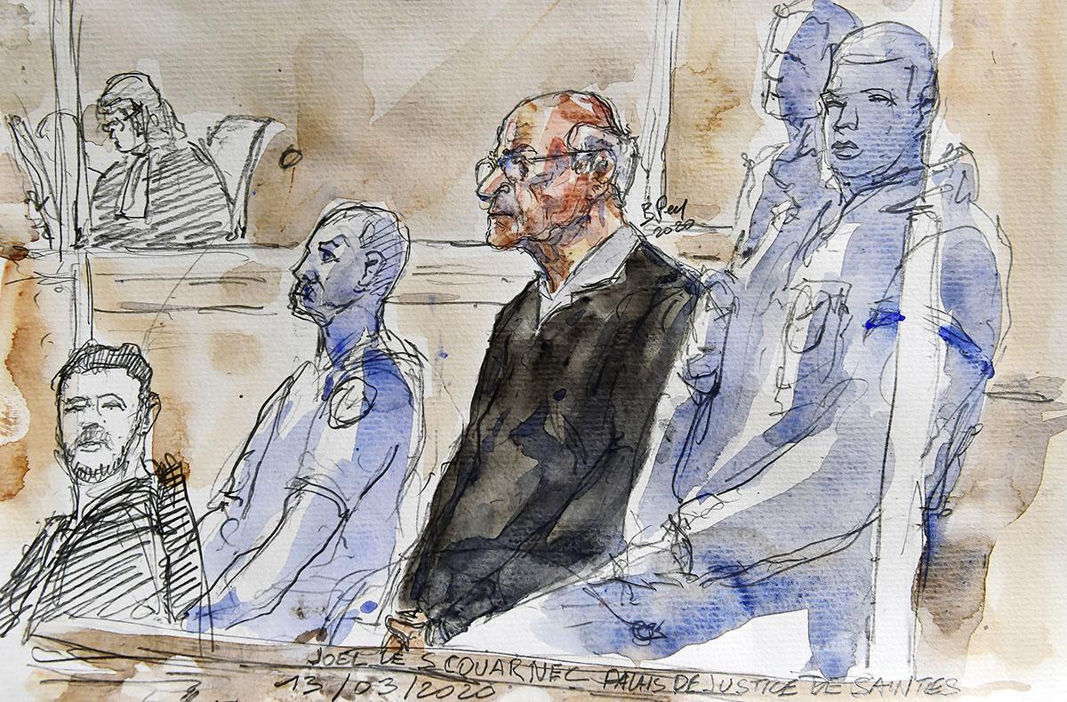 Pédophilie: l'attente du verdict pour l'ex-chirurgien Joël Le Scouarnec