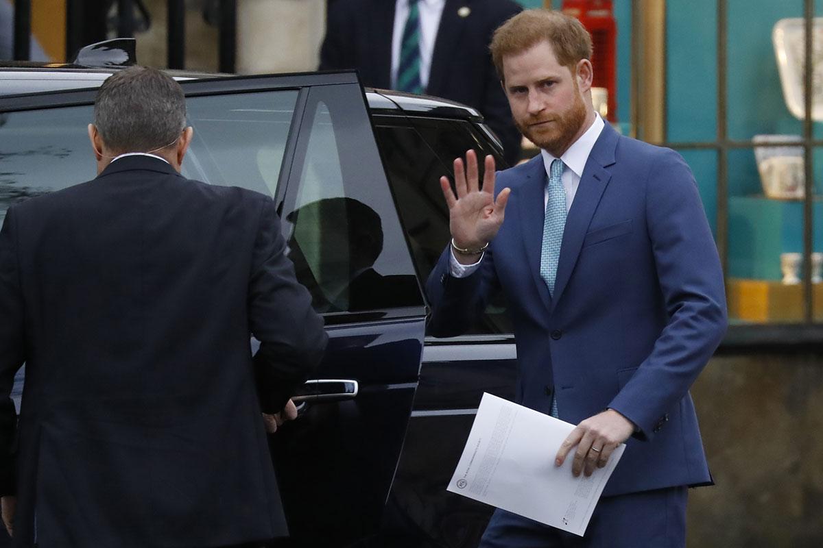 Le prince Harry poursuit de nouveau en diffamation un tabloïd britannique