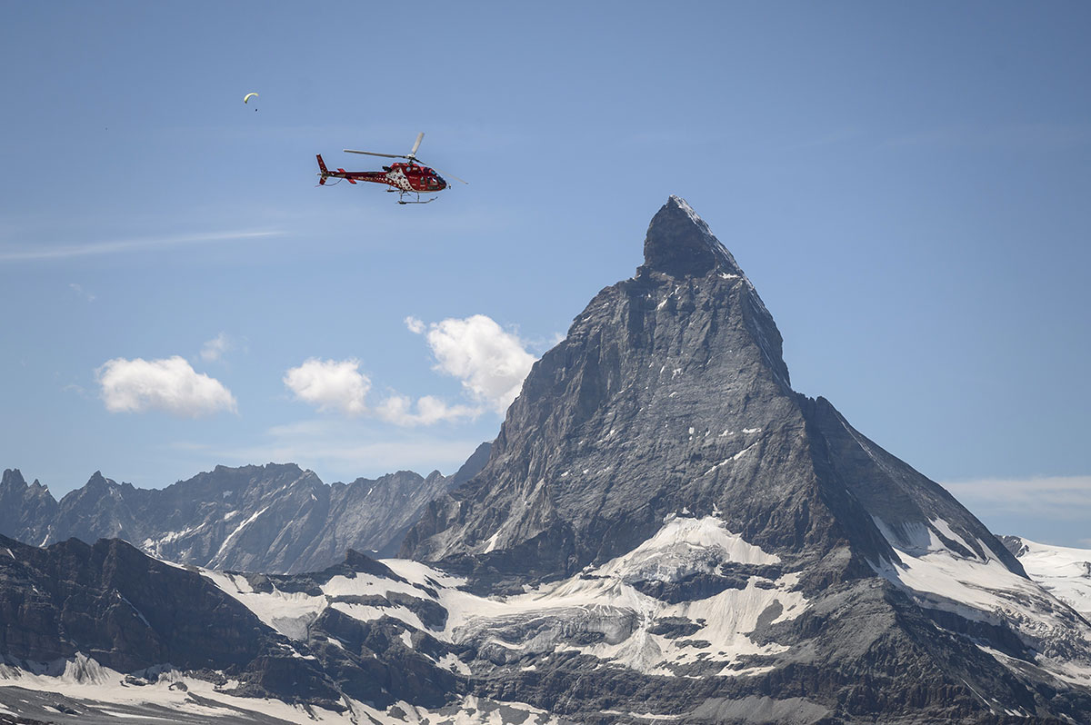 Cinq morts et un blessé dans le crash d'un hélicoptère en Savoie