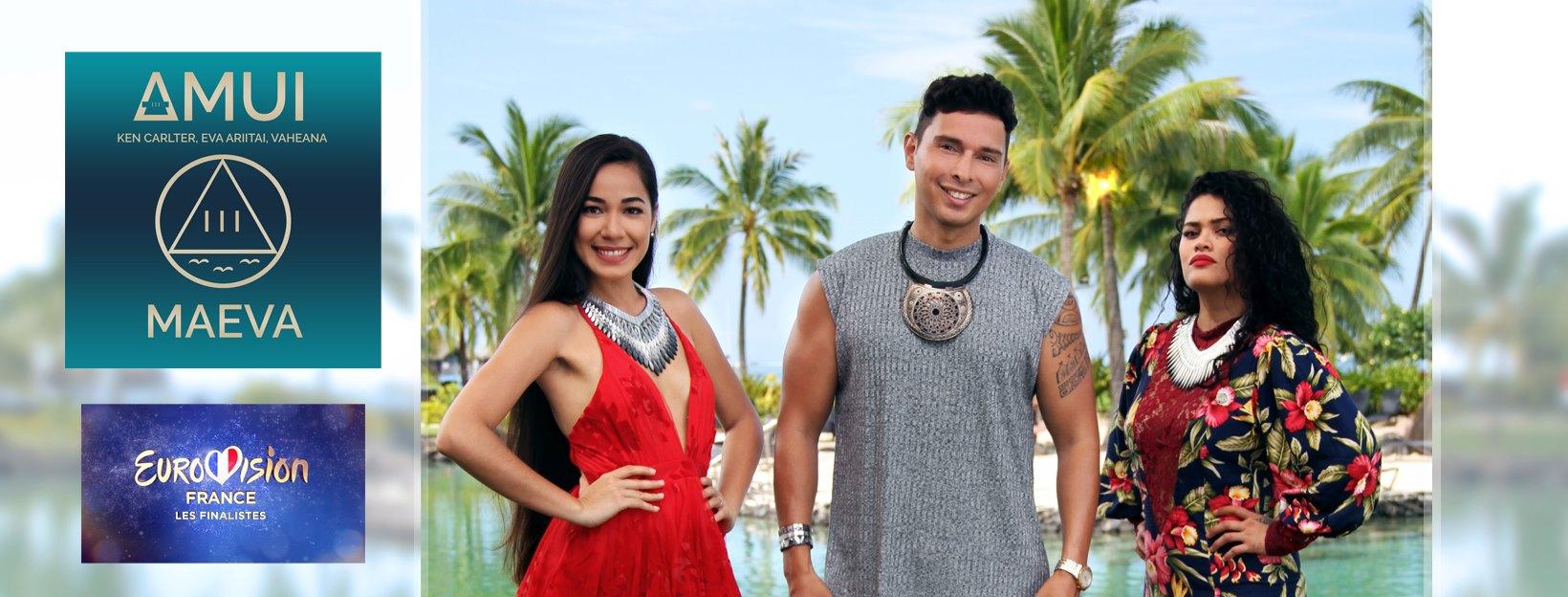 Le trio polynésien Amui retenu pour la finale de l'Eurovision France