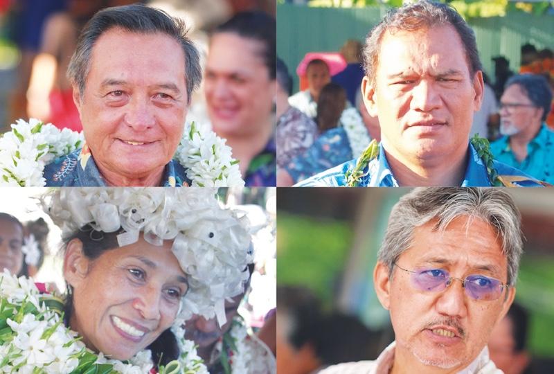 Comptes de campagne validés pour Buillard, Nena, Iriti et Schyle, rejetés pour Snow