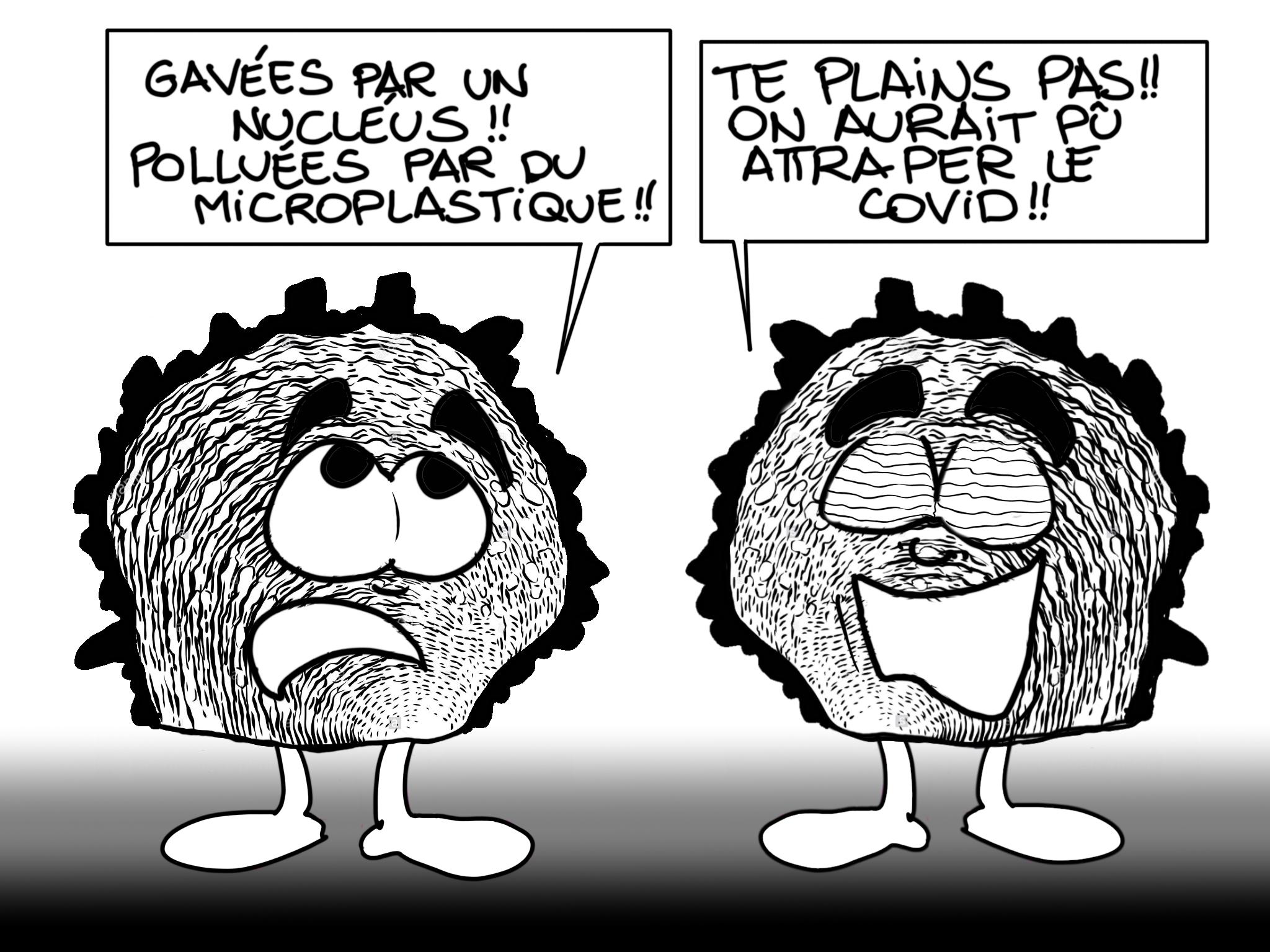 """Huitres perlières : l'intoxication"", par Munoz"
