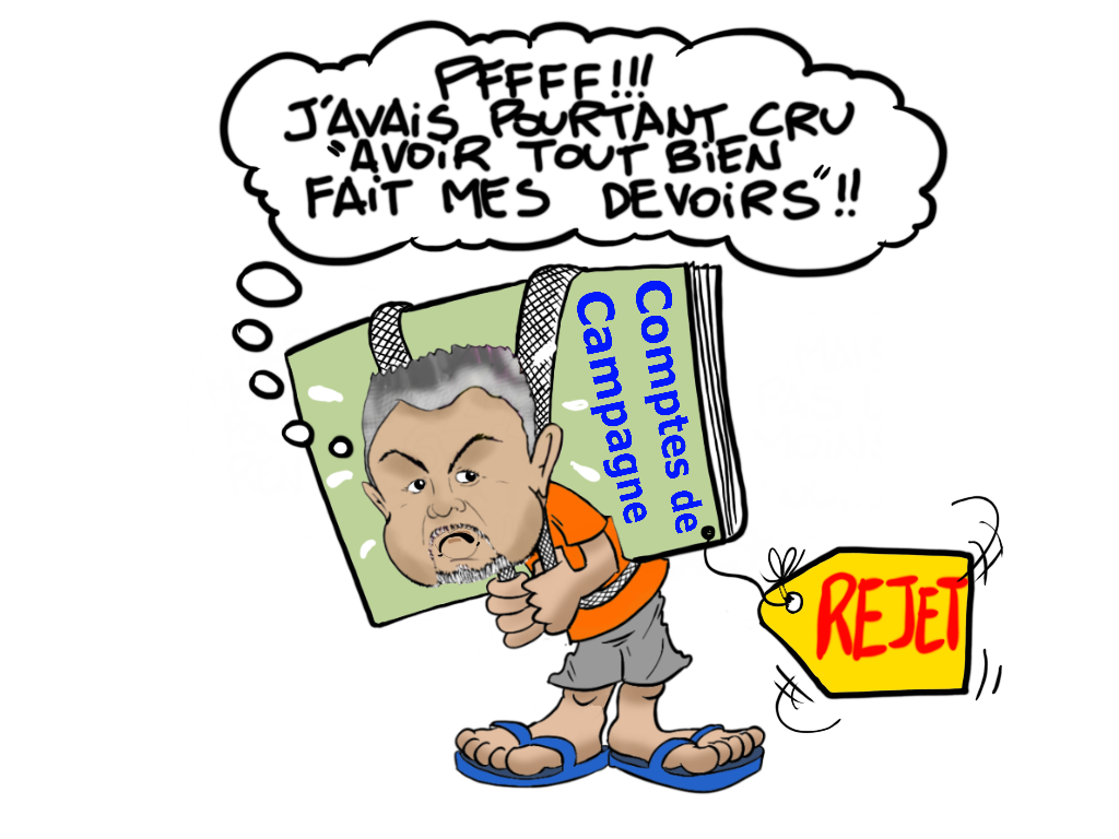 """Rejet des comptes"", par Munoz"