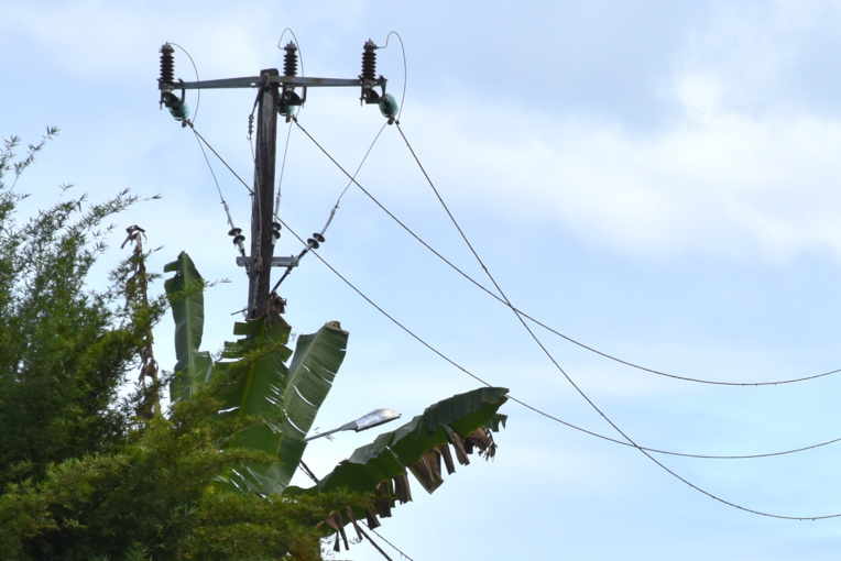 Des coupures d'électricité suite à un incident sur la ligne TEP à Papenoo
