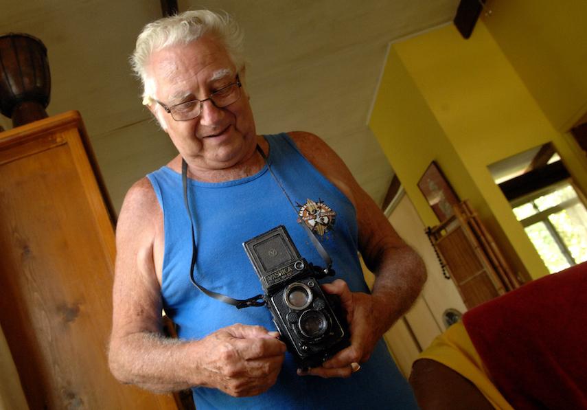 Jean-Claude Soulier est décédé samedi dans sa 84e année. (Photo : Christian Durocher).