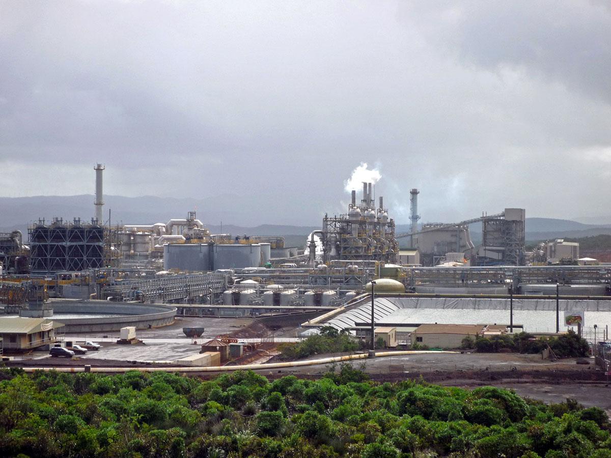 N-Calédonie: incendie et dégradations à l'usine de nickel de Vale