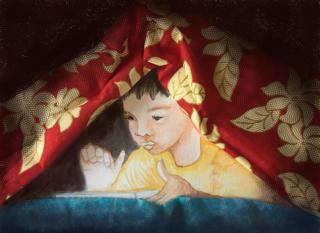 Page enfant : Manoa, 5 ans, reçoit une tablette en cadeau…