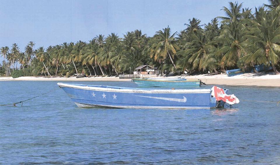 Un bateau bourré de cocaïne échoue aux Îles Marshall, sans personne à bord