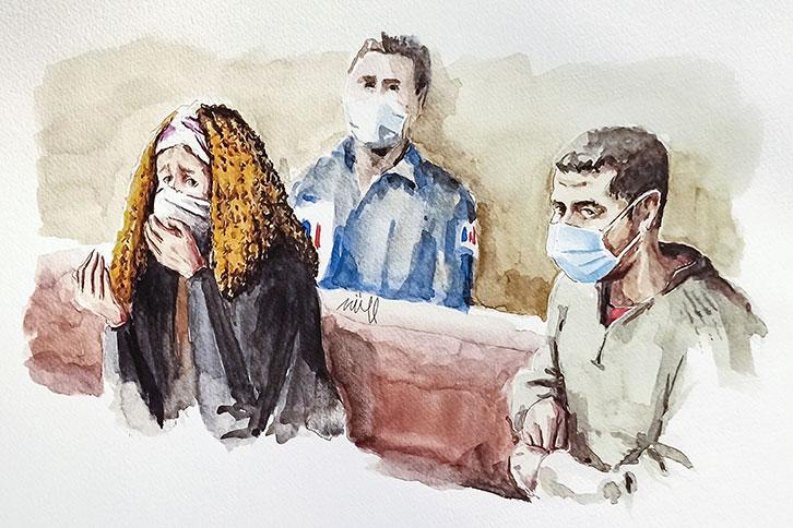 Procès Fiona: 20 ans de réclusion pour Cécile Bourgeon et 18 pour son ex-compagnon