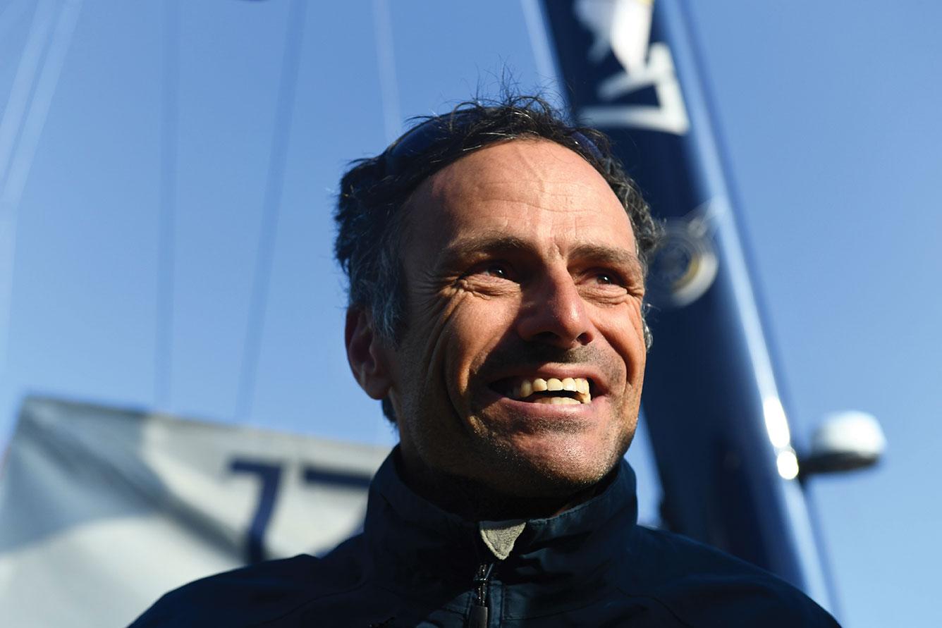 """Voile: Franck Cammas élu """"marin de la décennie"""""""