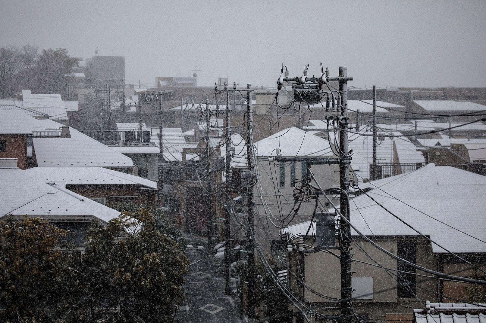 Importantes chutes de neige au Japon: l'armée en renfort