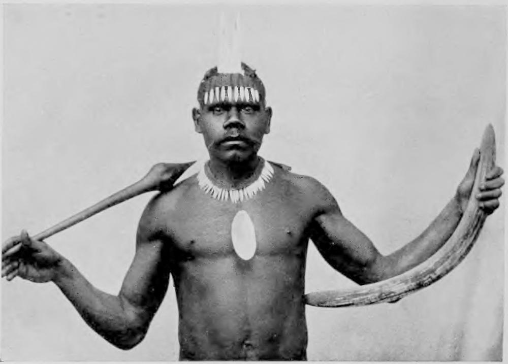 """Un natif de la tribu de Kabi. Les """"Noirs"""" étaient jugés """"sauvages et perfides"""" par les autorités du Queensland."""