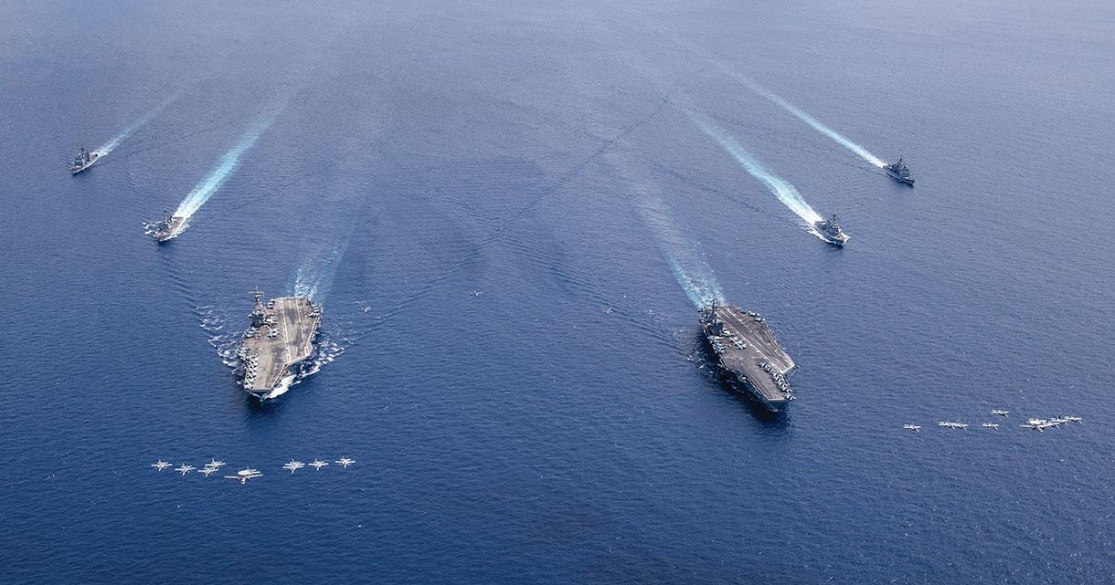 """L'US Navy se veut """"plus musclée"""" face à la Chine dans le Pacifique"""