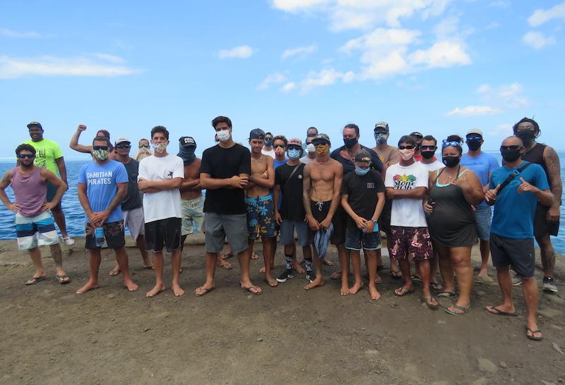 Les surfeurs de Moorea disent non à la Haapiti Pro 2021