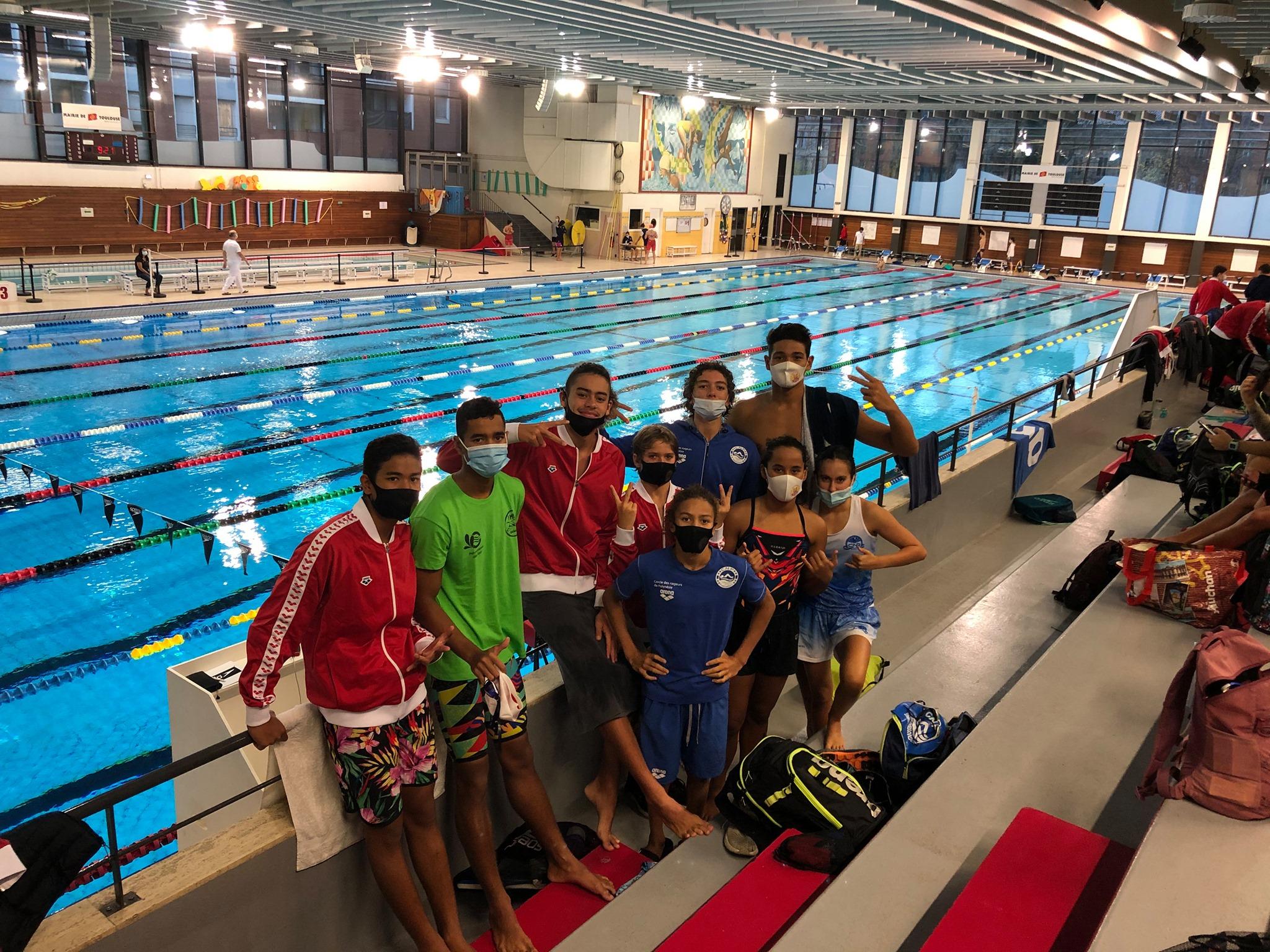 Les espoirs de la natation brillants à Toulouse
