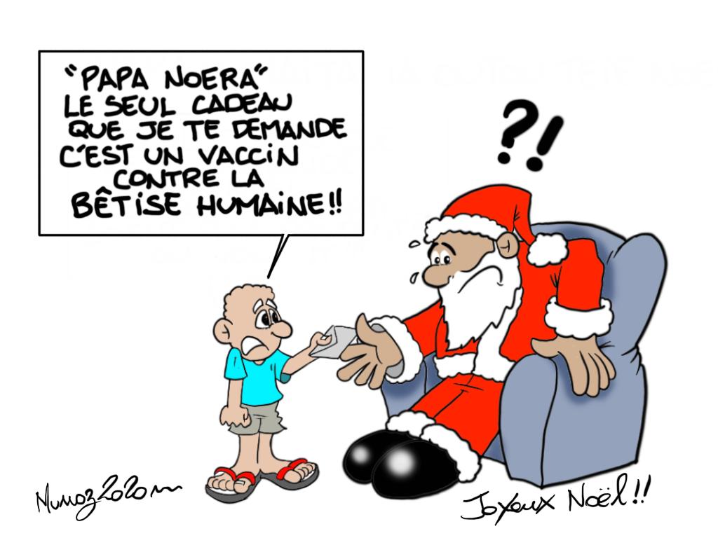"""""""Un vaccin contre la bêtise"""", par Munoz"""