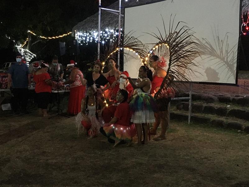 La magie de Noël à Hiva Oa