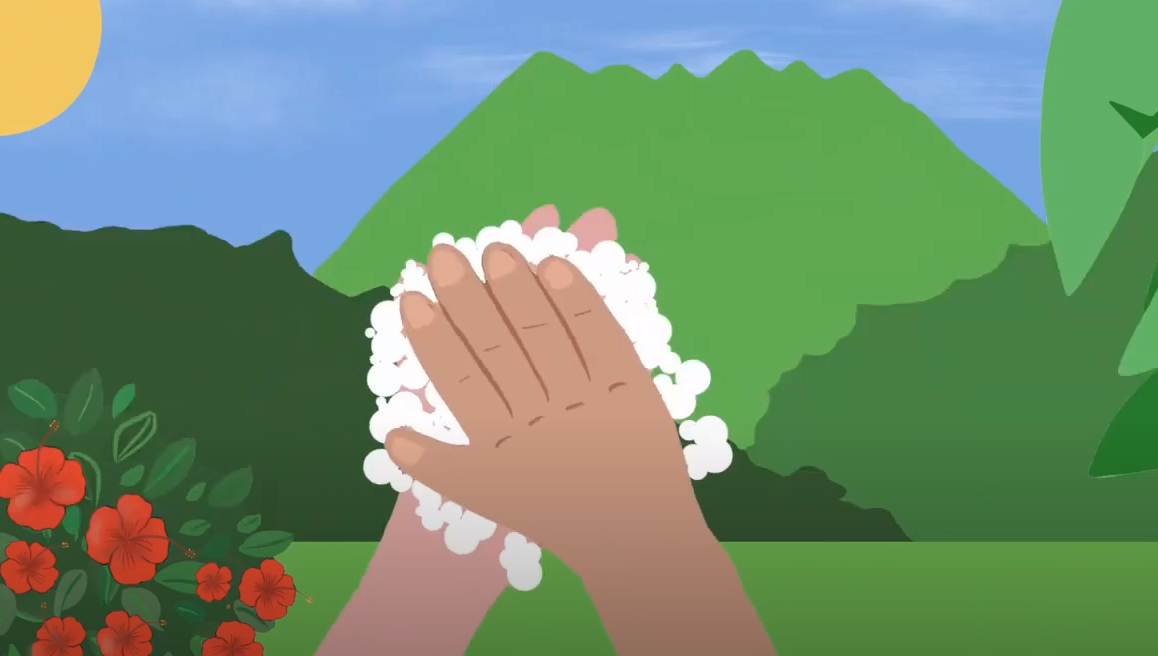 Page enfant : Avec les Comptineurs, lave-toi les mains en chanson