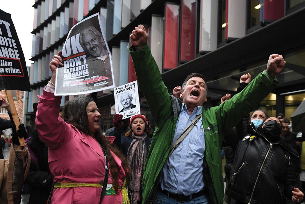 La justice britannique refuse d'extrader Assange vers les Etats-Unis