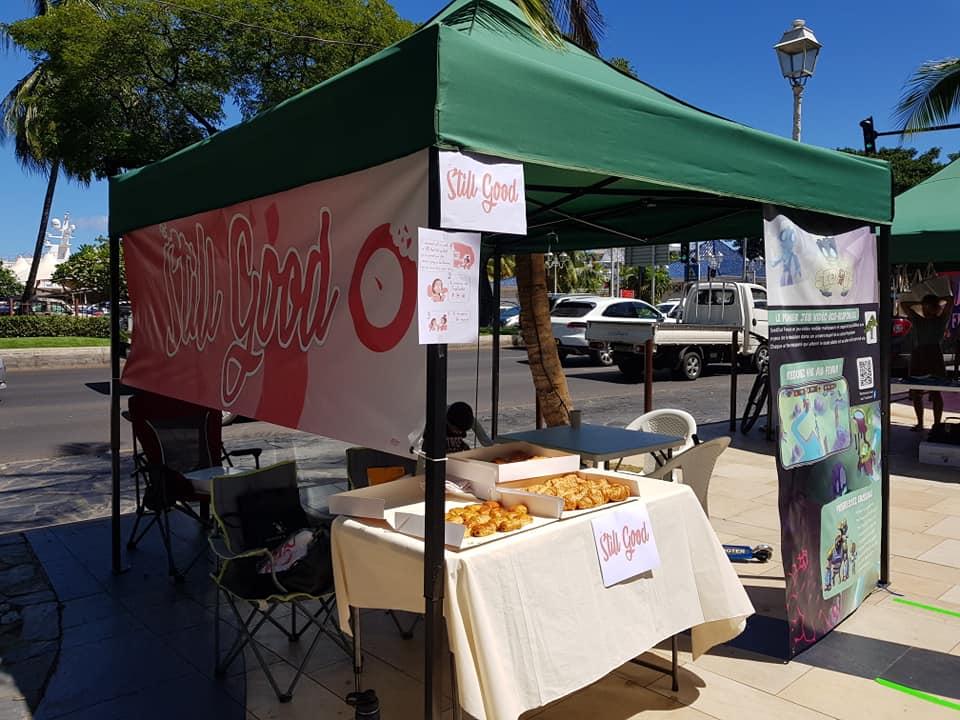Présentation de Still Good au TI'A Fenua Eco Durable Expo Market.