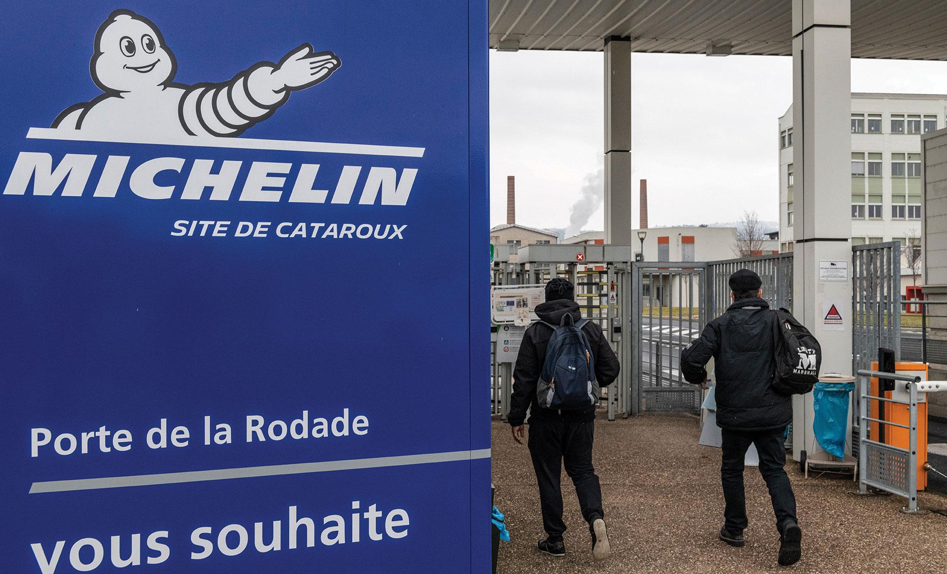 Choc chez Michelin qui va supprimer jusqu'à 2.300 postes en France