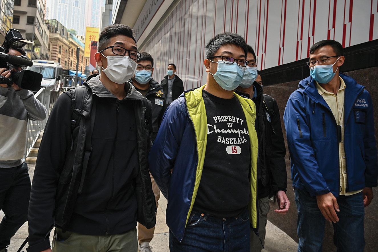 La Chine intensifie sa répression à Hong Kong, vaste coup de filet