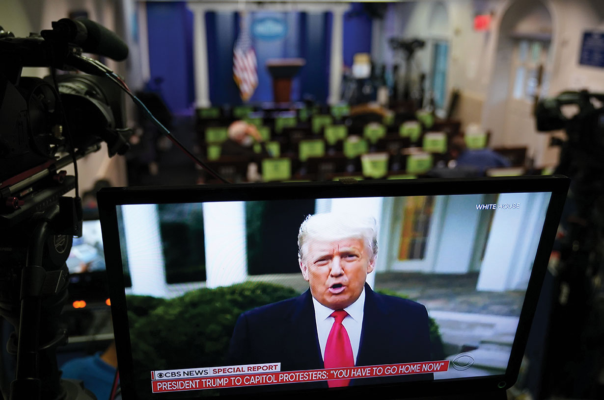Twitter suspend le compte de Donald Trump après des violences à Washington