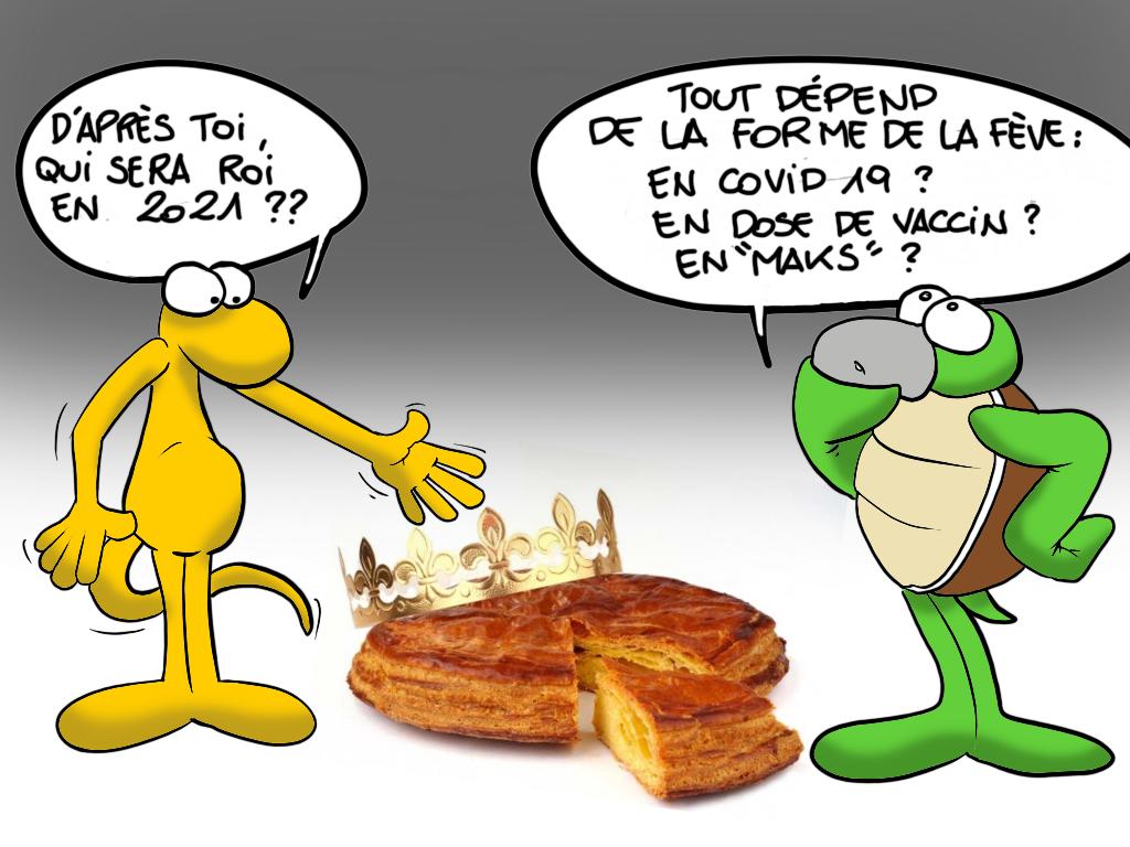 """""""La fève"""", par Munoz"""