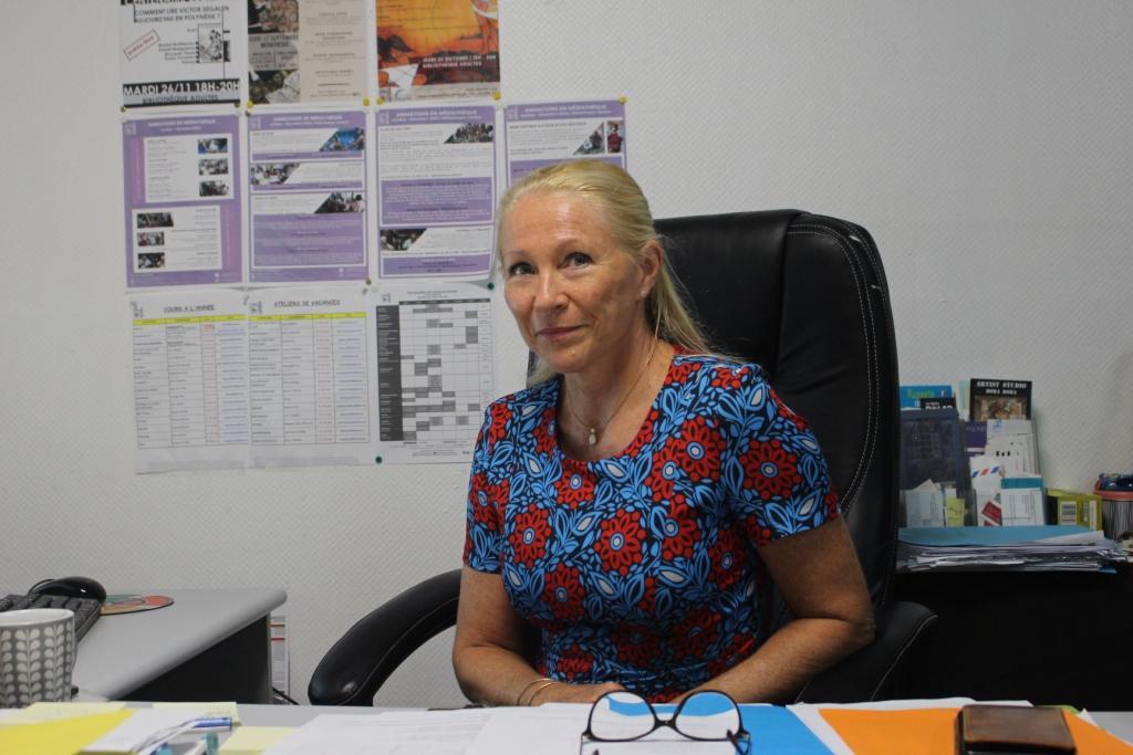 Mylène Raveino, responsable des activités permanentes de la Maison de la culture.