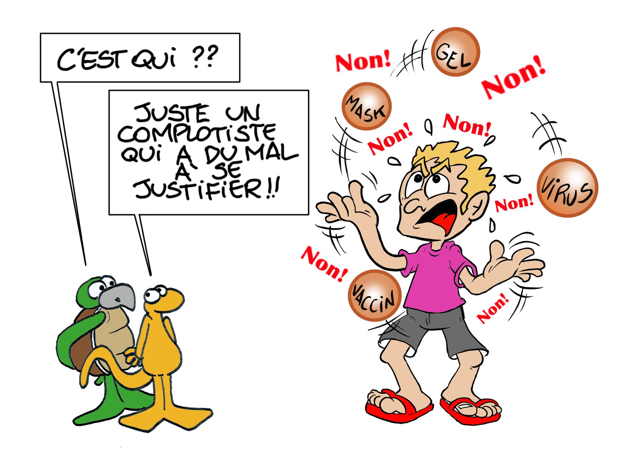 """""""Non ! Non ! Non !"""", par Munoz"""