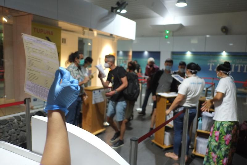 Les démarches exigées au départ et à destination de la Polynésie