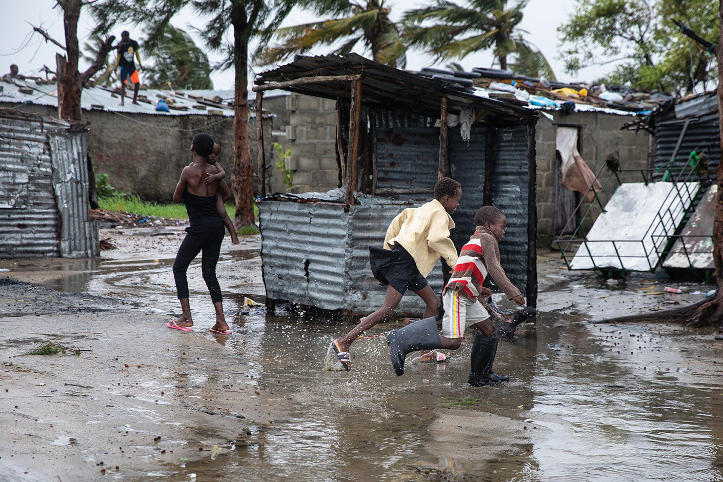 Evénements météo extrêmes: 480.000 morts en 20 ans