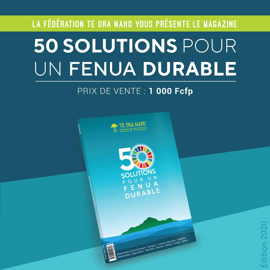 """La FAPE et ses """"50 solutions pour un fenua durable"""""""