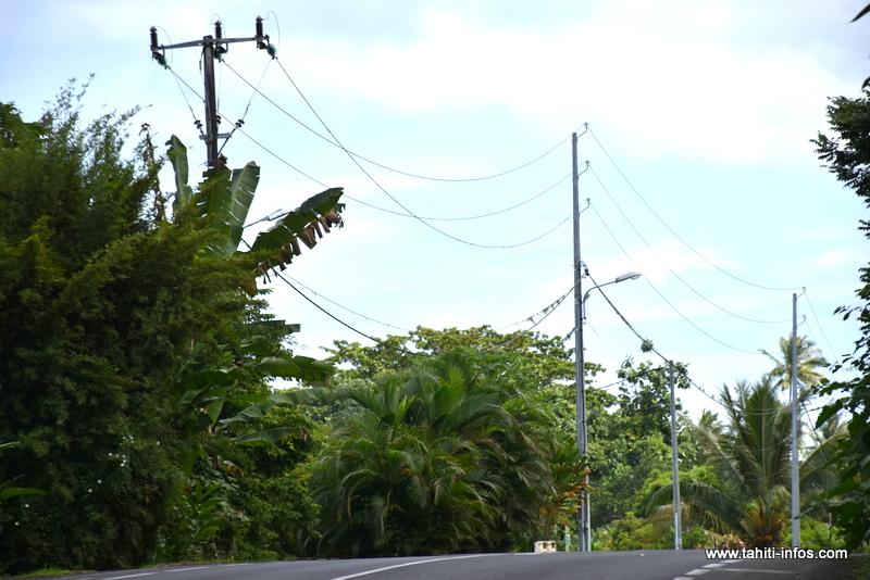 Un impact de foudre perturbe le réseau électrique à Teva I Uta