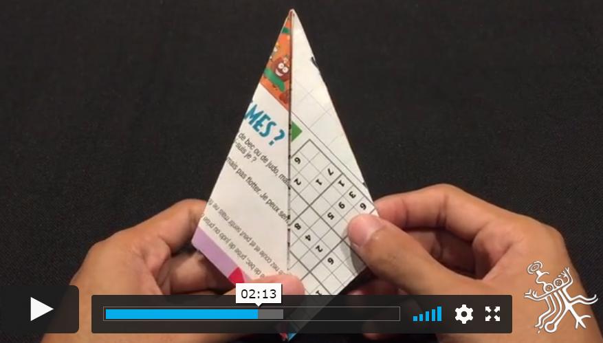 Page enfant : S'initier à l'origami