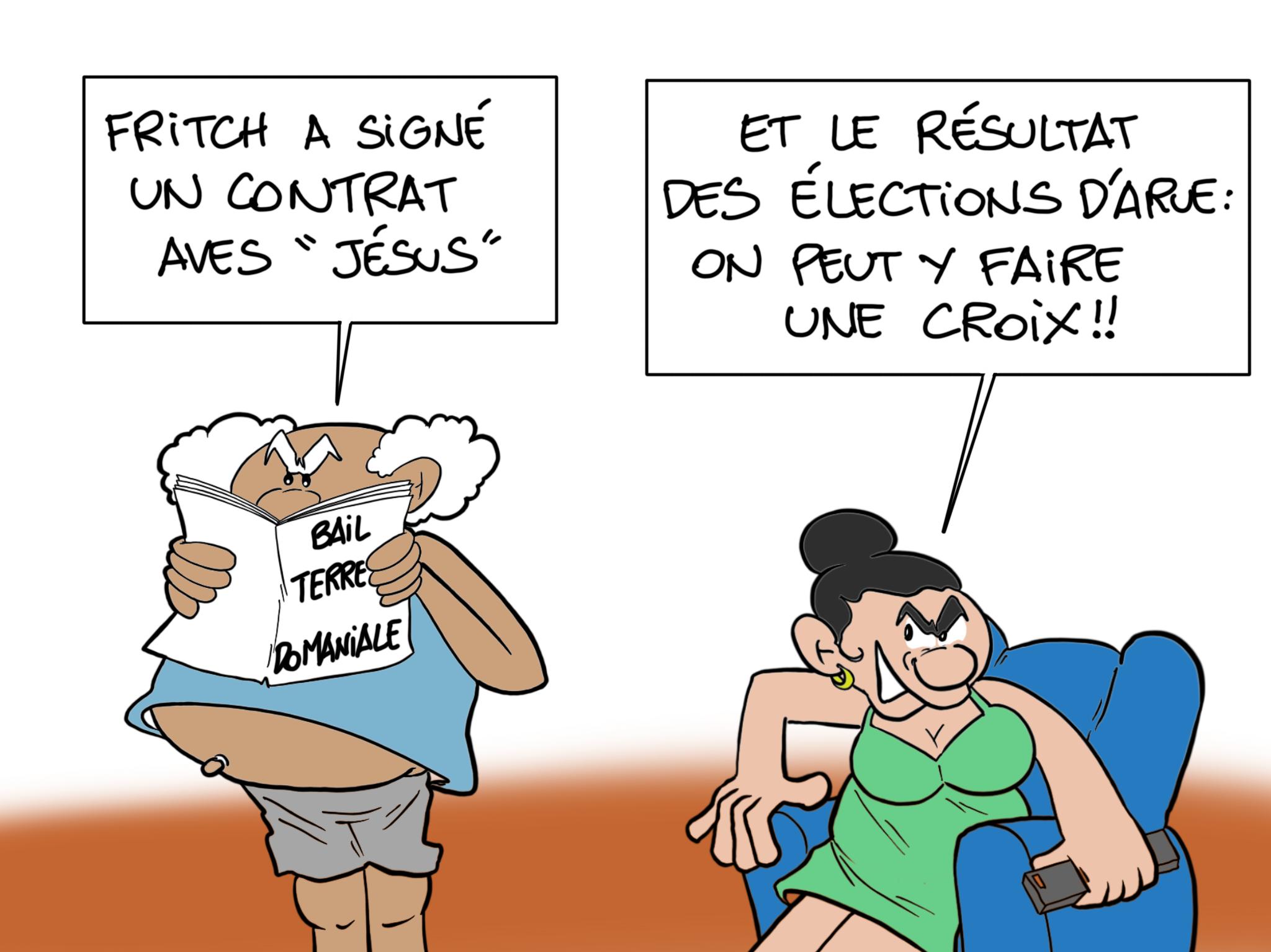 """""""Sur la croix"""", par Munoz"""