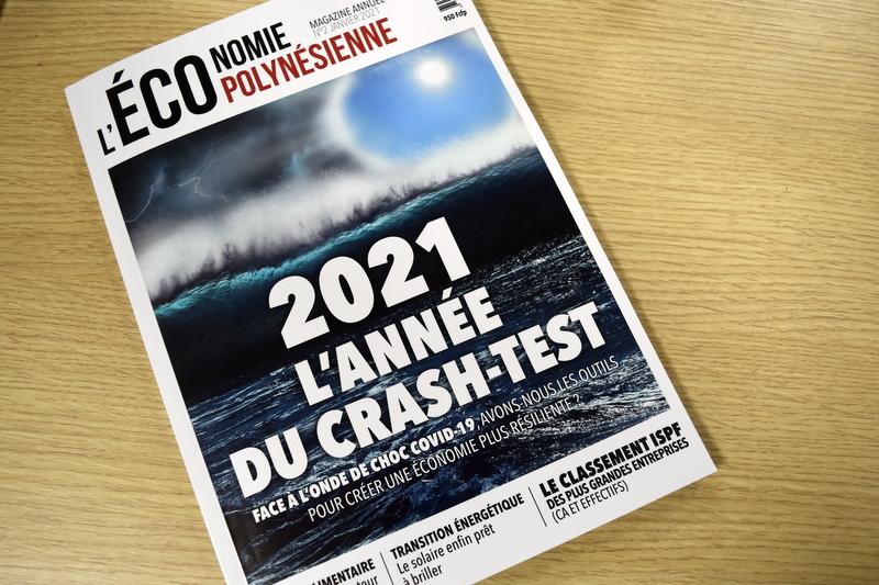 Le magazine L'ECOnomie polynésienne fait le point