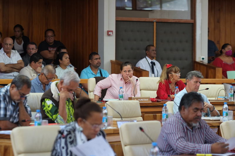 """Le Tapura dénonce le """"mercato"""" à l'assemblée"""