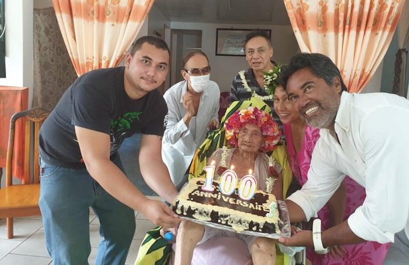 Mama Tini a fêté ses 100 ans