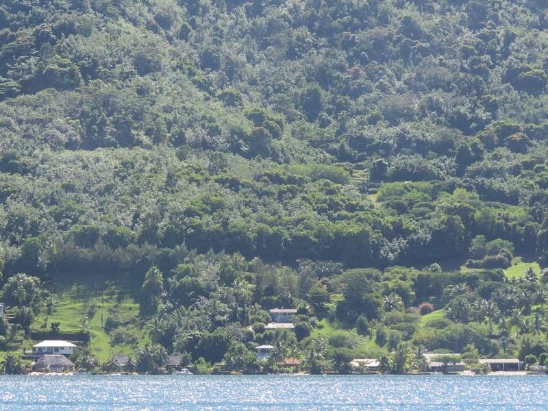 Un projet de groupement d'habitations à Paopao