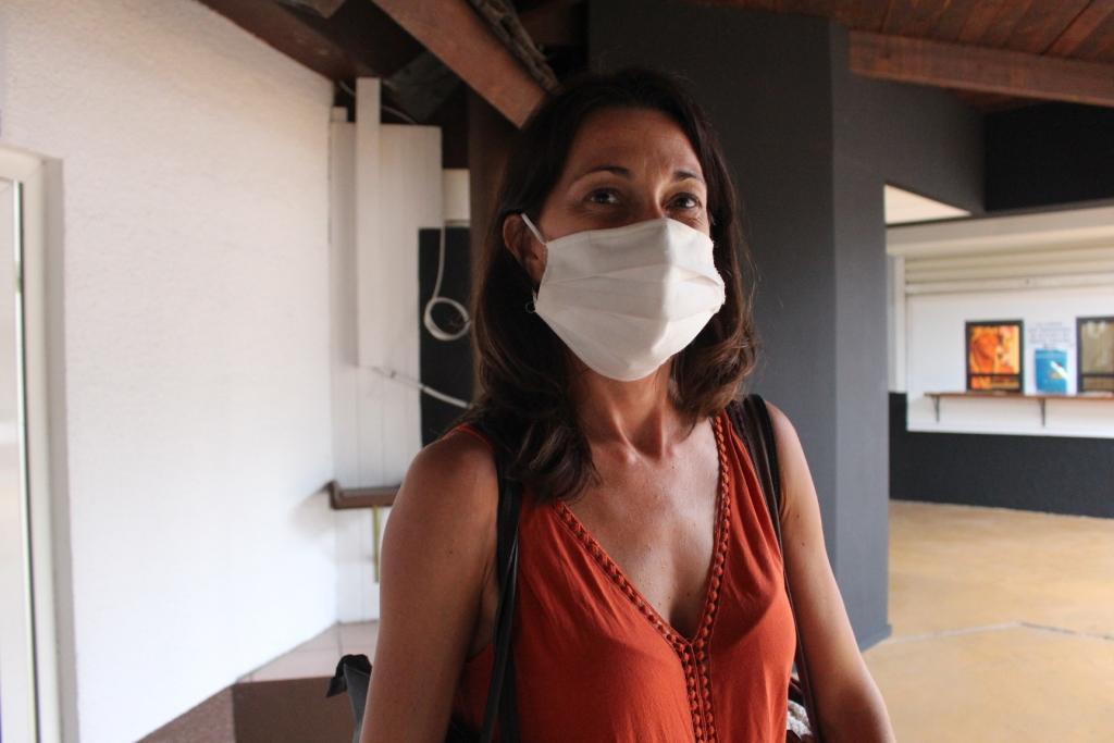 Amélie est professeure en arts appliqués et communication graphique au lycée Don Bosco, elle a suivi l'atelier écriture de scénario.