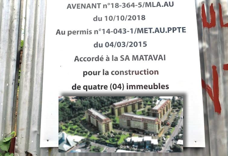 Un projet de quatre bâtiments pour des commerces et 232 logements à Tipaerui