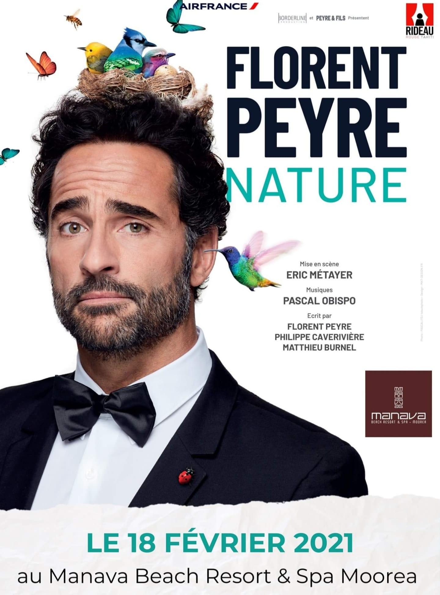 """Florent Peyre """"Nature"""" sur scène"""