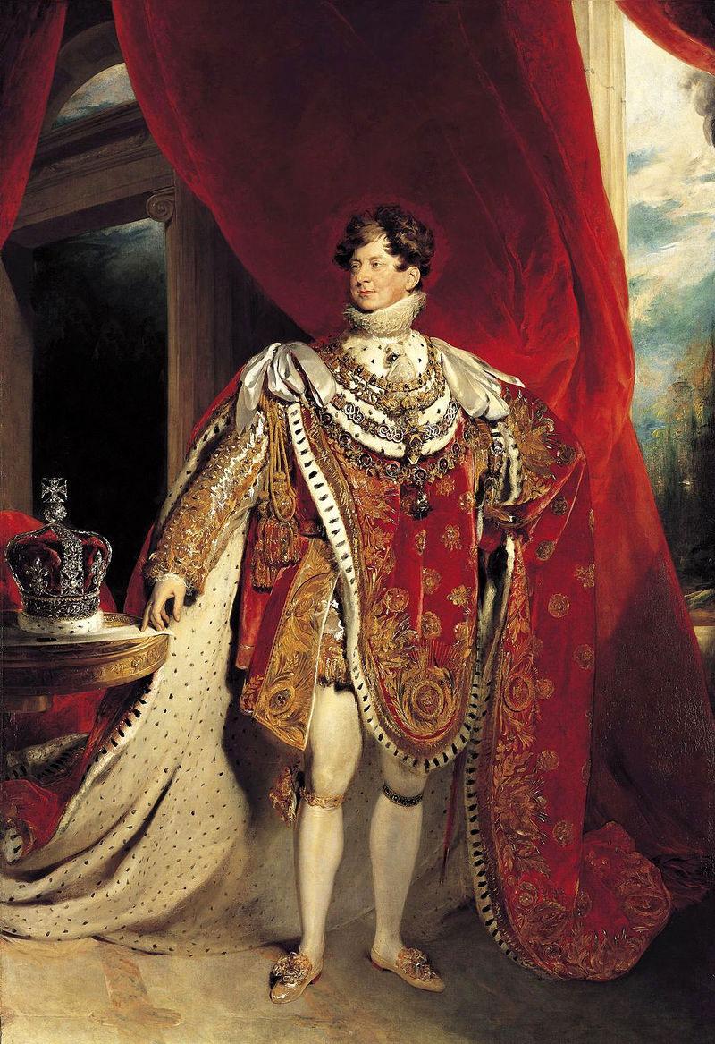 Le roi George IV n'eut pas le temps de rencontrer le souverain du royaume de Hawaii que la rougeole emporta avant leur entrevue.