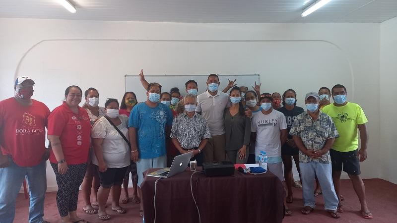 Une formation au leadership pour les associations de quartier de Bora Bora
