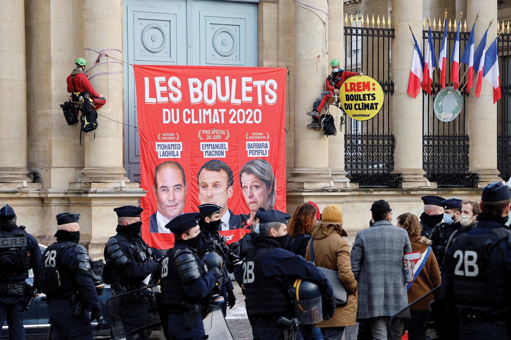 """Loi Climat: le Haut Conseil invite à """"rectifier le tir"""""""