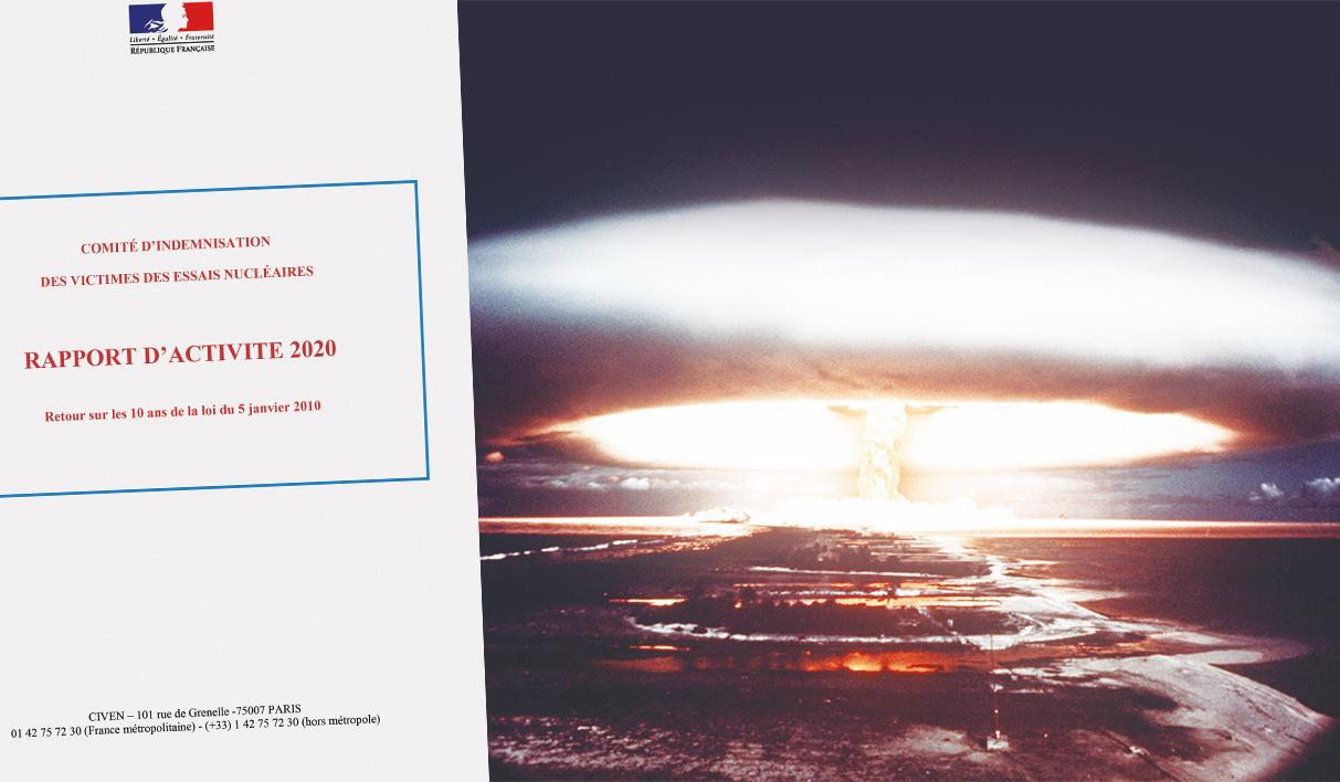 144 victimes du nucléaire indemnisées en 2020