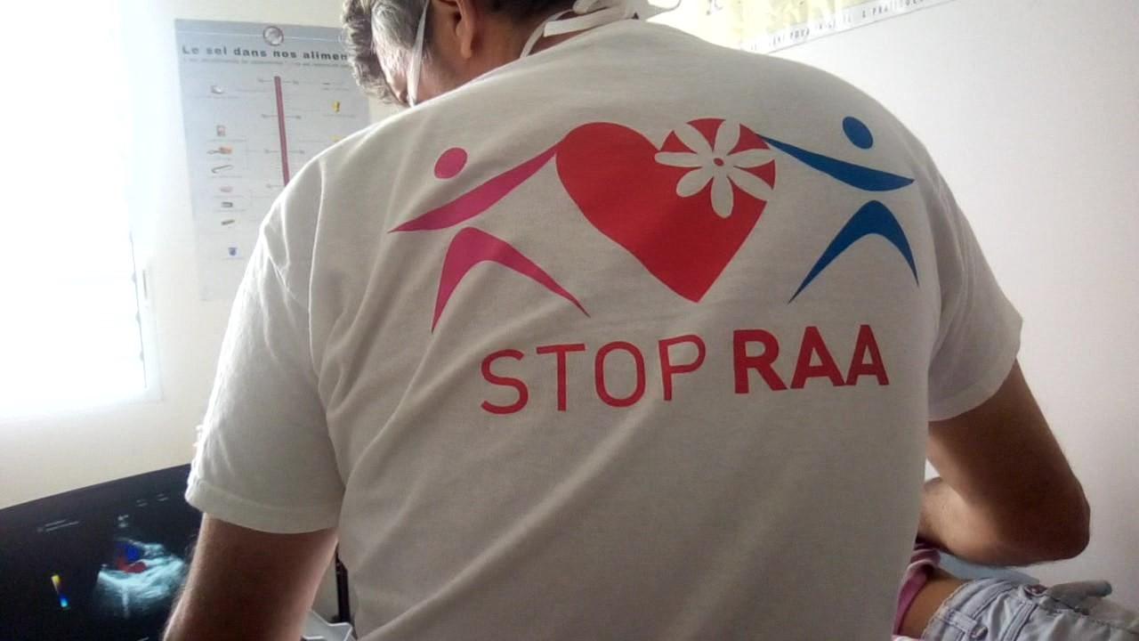 Plus de 80 enfants au dépistage du RAA à Hao