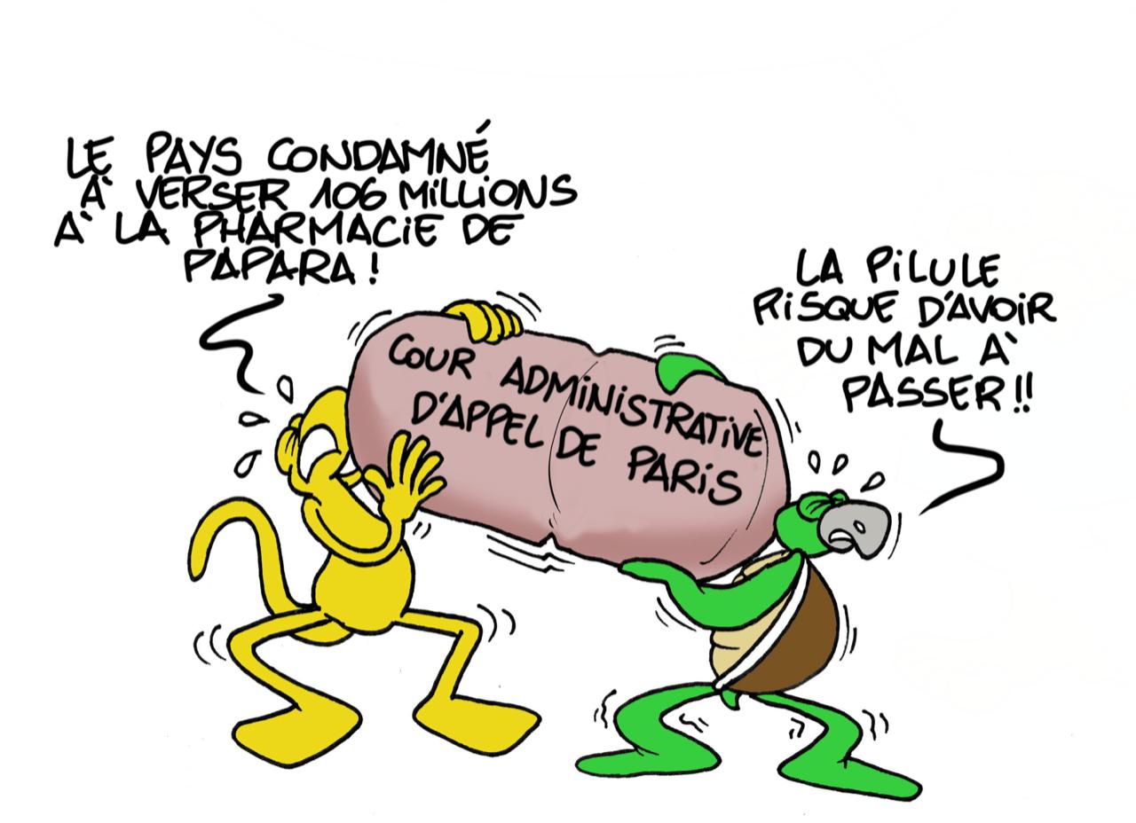 """""""106 millions la pilule"""", par Munoz"""