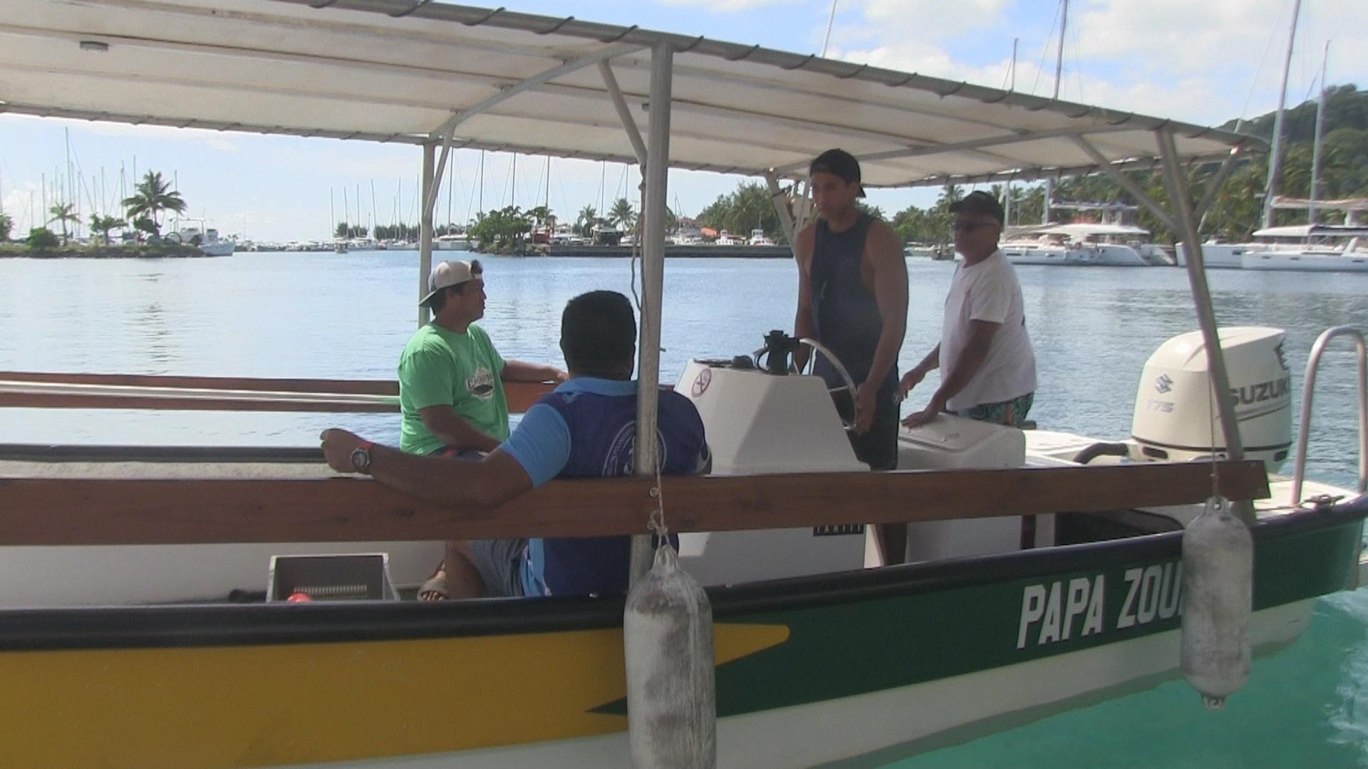 Les permis bateau ont la cote à Raiatea